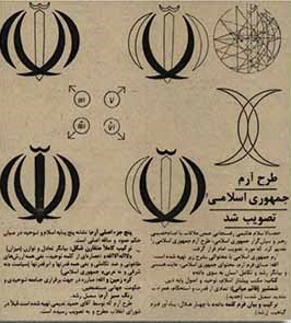 آرم جمهوری اسلامی و هویت ملی ما - رضا فرخفال
